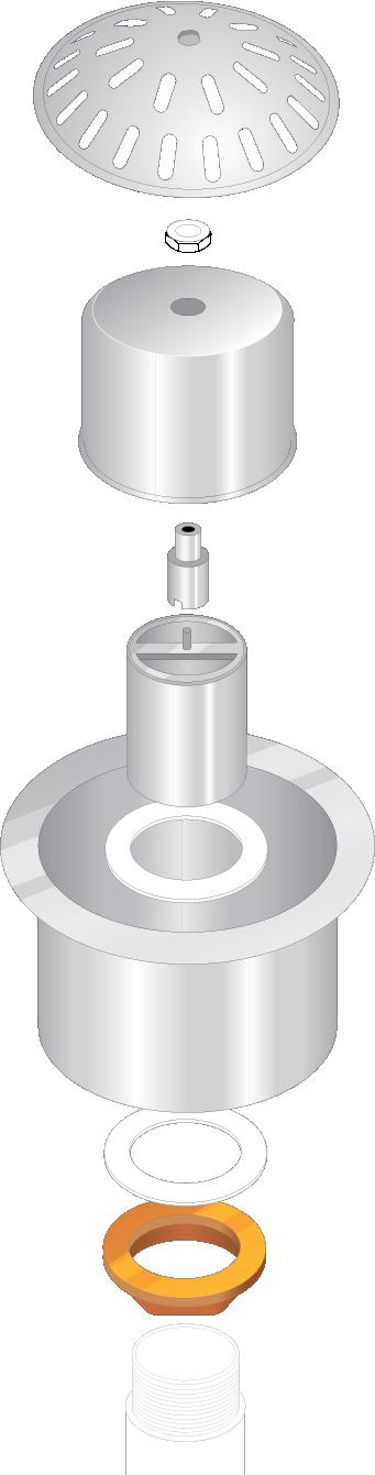 Urinal Waste Traps